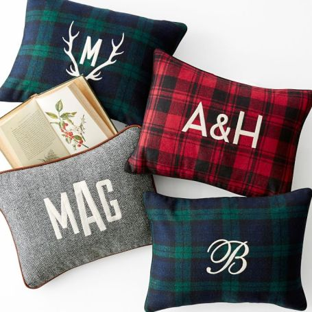 Plaid Pillows from Mark and Graham