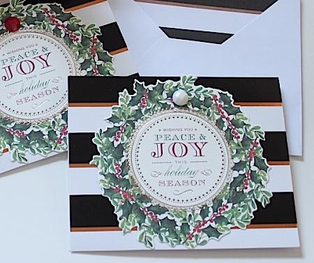 DIY Christmas Card Detail