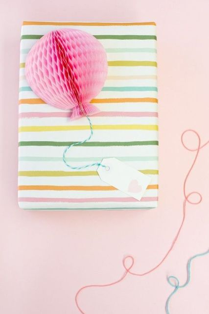 Honeycomb Ball Gift Wrap