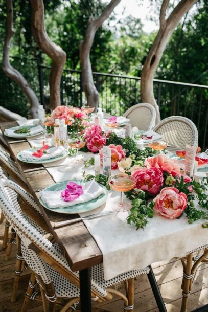 Table Setting via Camille Styles