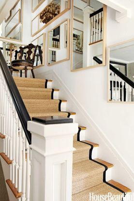 Black Stair Banister--Black Paint Colors