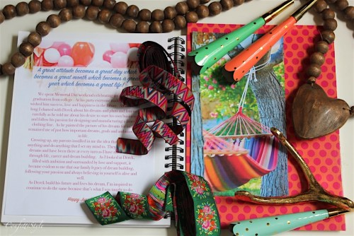 Inspiration Notebook June 2016-Dreams