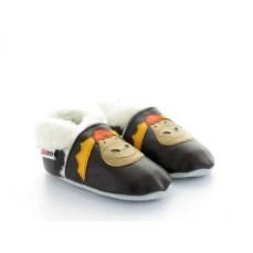 chaussons-fourres-en-cuir-souple-elan-marron