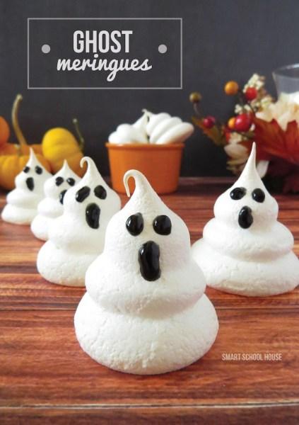 Ghost-Meringues-