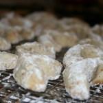 Vanilla Kipferl Cookies