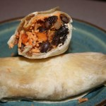 VeganMoFo: Sweet Potato Burritos