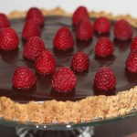 Gluten Free Raspberry Chocolate Tart