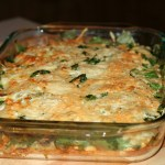 Spinach and Cheese Breakfast Casserole