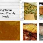 Vegetarian Freezer-Friendly Meals