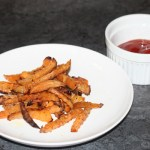 Baked Rutabaga French Fries