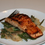 Pan-Seared Miso Glazed Salmon