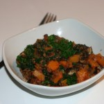 Butternut Squash and Kale Hash