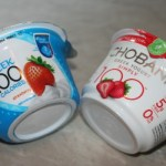 Yoplait vs. Chobani 100 Calorie Strawberry Greek Yogurt Taste Off