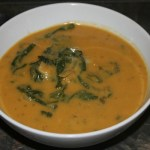 Creamy White Bean Soup with Swiss Chard