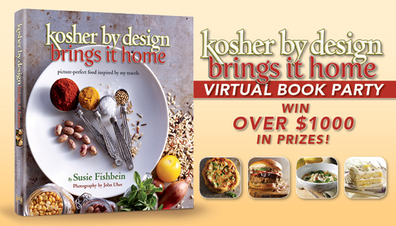 Kosher By Design Brings it Home + Giveaway