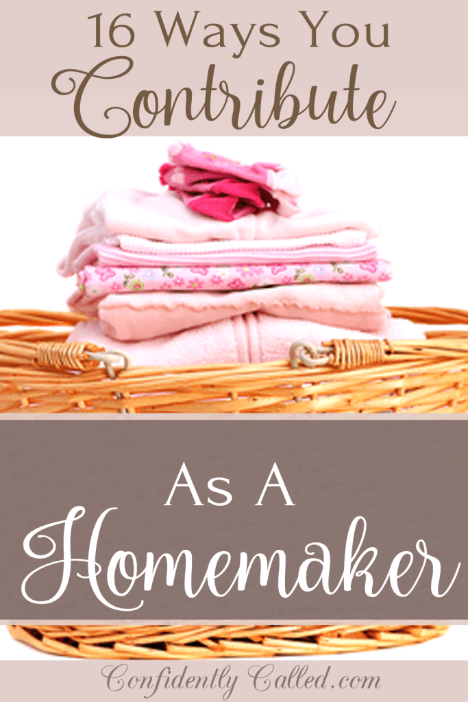 The Homemakers contribution is valuable and necessary. Here are 16 ways a Christian homemaker contributes to her family.