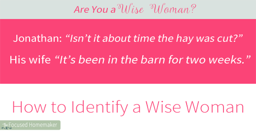 Are You A Wise Woman?  Seven Ways to Identify Her