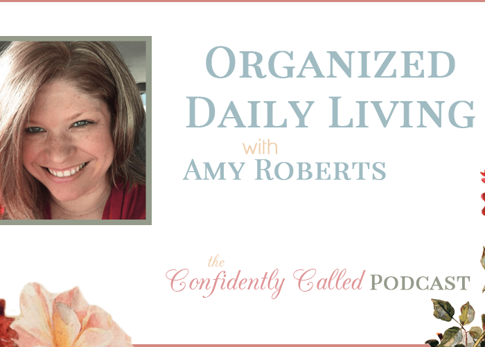 Podcast: Organized Daily Living as a Homemaker & Homeschool Mom with Amy Roberts