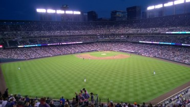 At the Rockies game