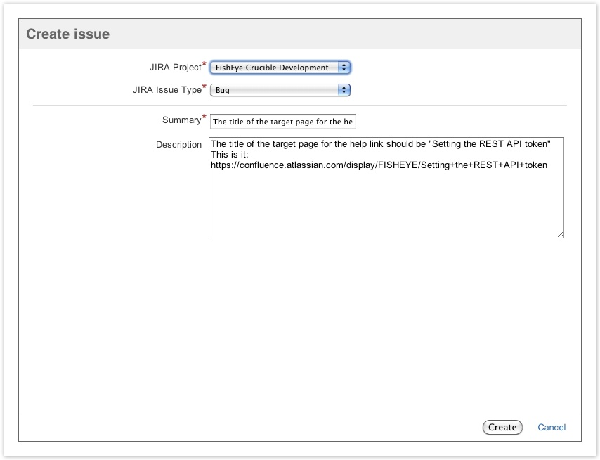 Jira integration in Crucible - Atlassian Documentation