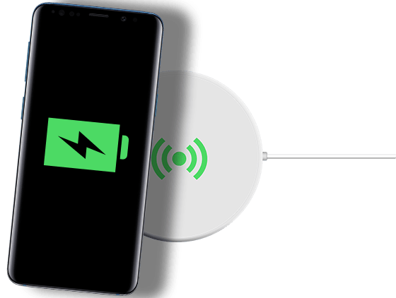 Wireless Charging Handy Laden Ohne Kabel Congstar - Kabelloses Laden Handy