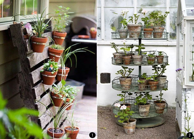 Decoración de terrazas, patios, balcones y jardines que inspiran - Decoracion De Terrazas Con Plantas