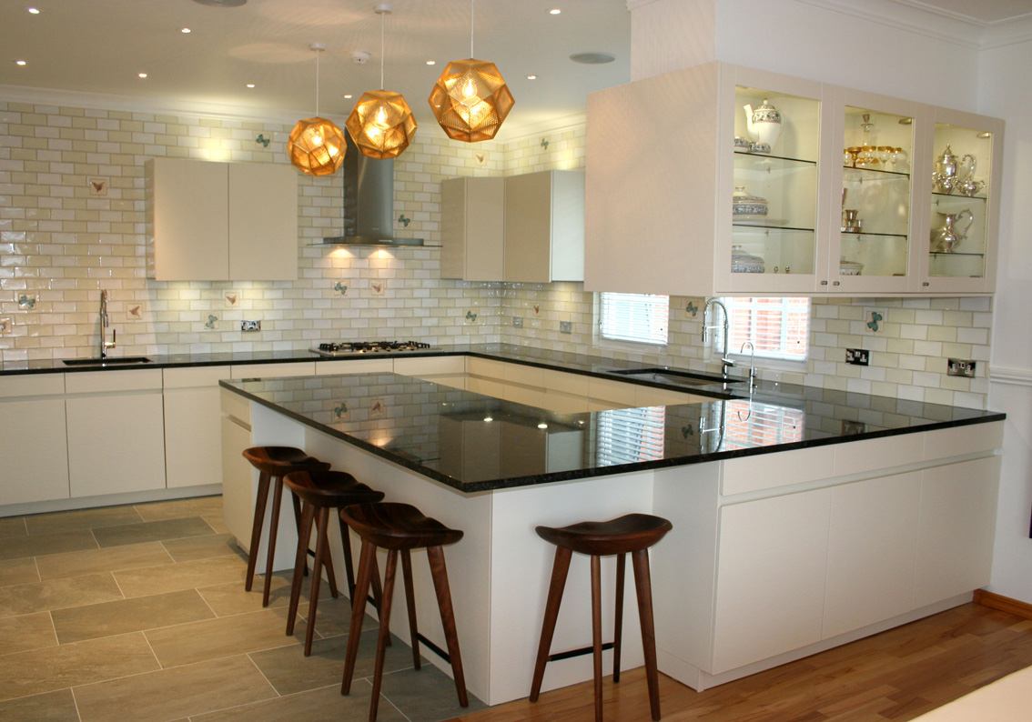 U Shaped Kitchen Designs With Breakfast Bar Case Study Kosher Kitchen In St Johns Wood Connaught