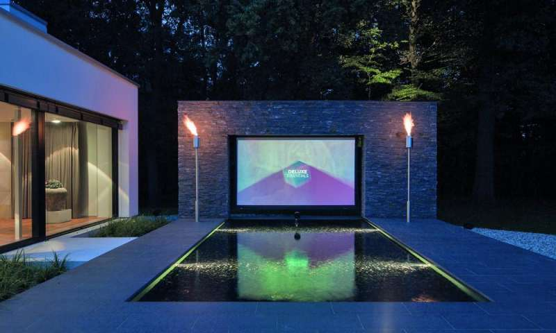Pool Terrasse Selber Bauen Smarthome-traum: Dieses Outdoor-kino Ist Deluxe - Connect