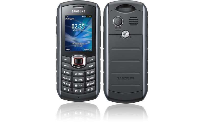 Samsung B2710 X Treme Edition Robustes Outdoor Handy Mit