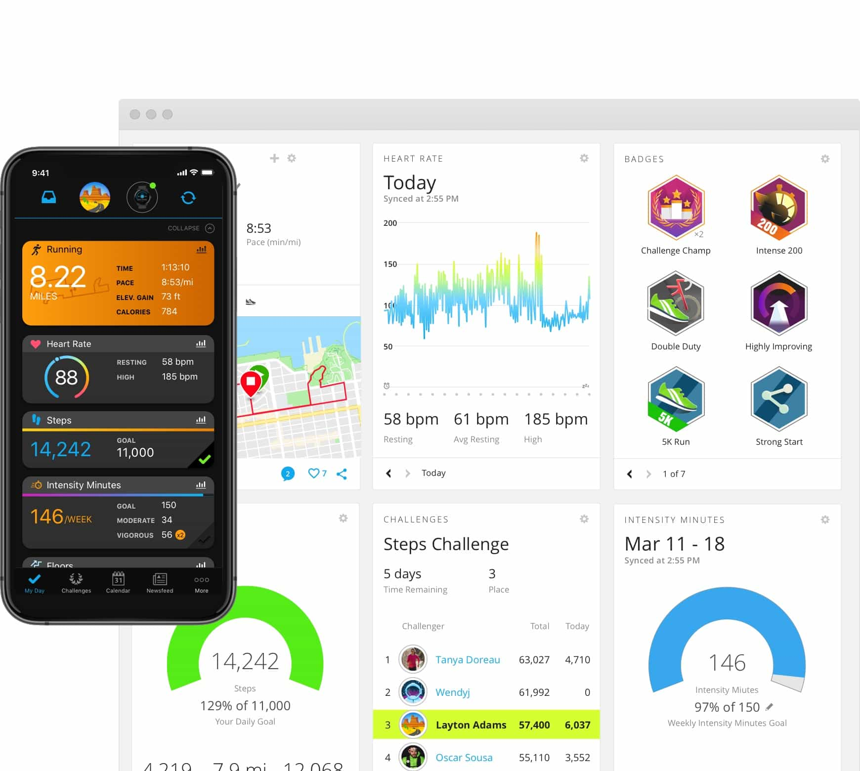 Mobili Baltija Garmin Connect Free Online Fitness Community