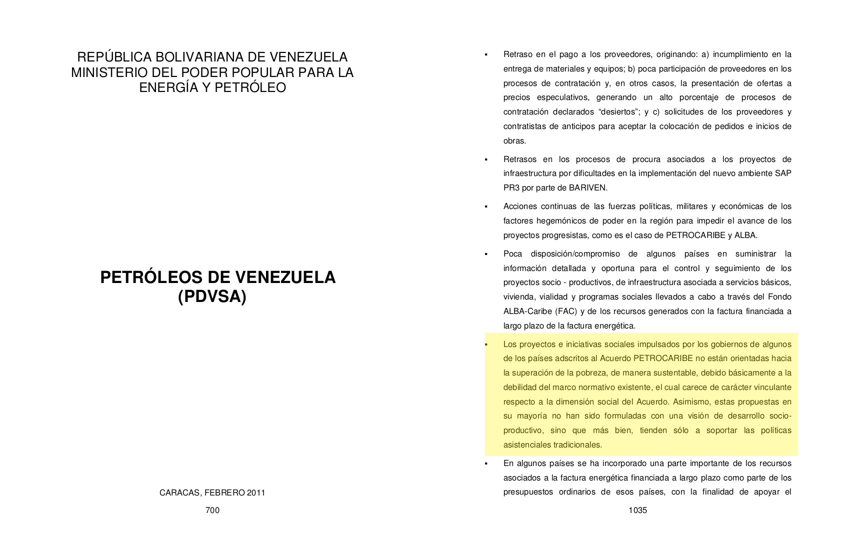 Table D Inversion Occasion The Assistentialism That Bolted Allies In Petrofraude Connectas
