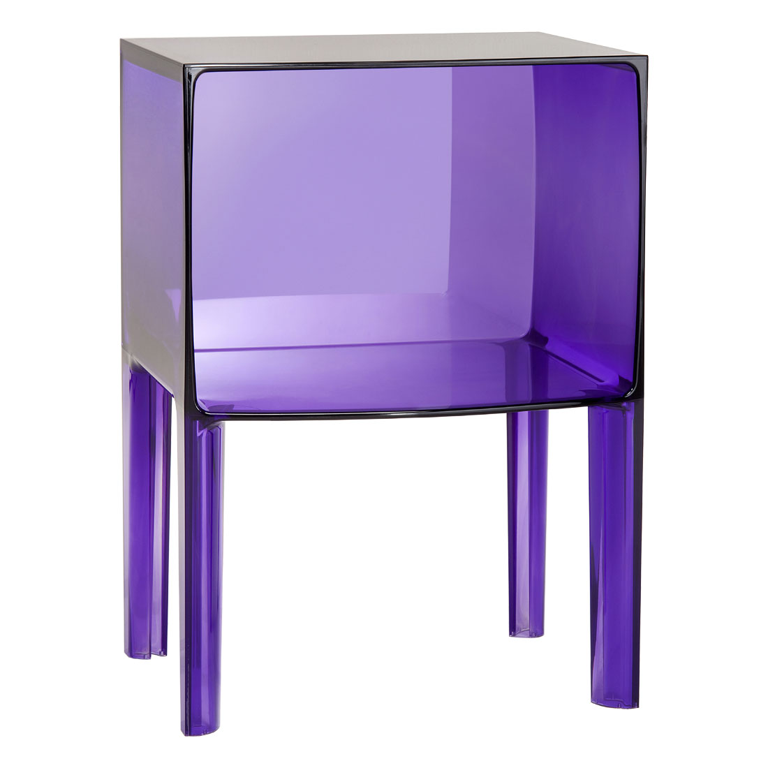 Kartell Container Kartell Ghost Buster Small Cabinet Table