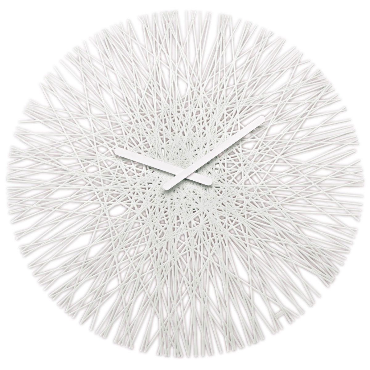 Buy Clock Buy Online Koziol Silk Wall Clock With Black Or White Hands