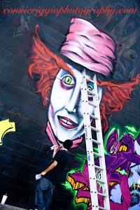 Graffiti Wall  Alice in Wonderland Update
