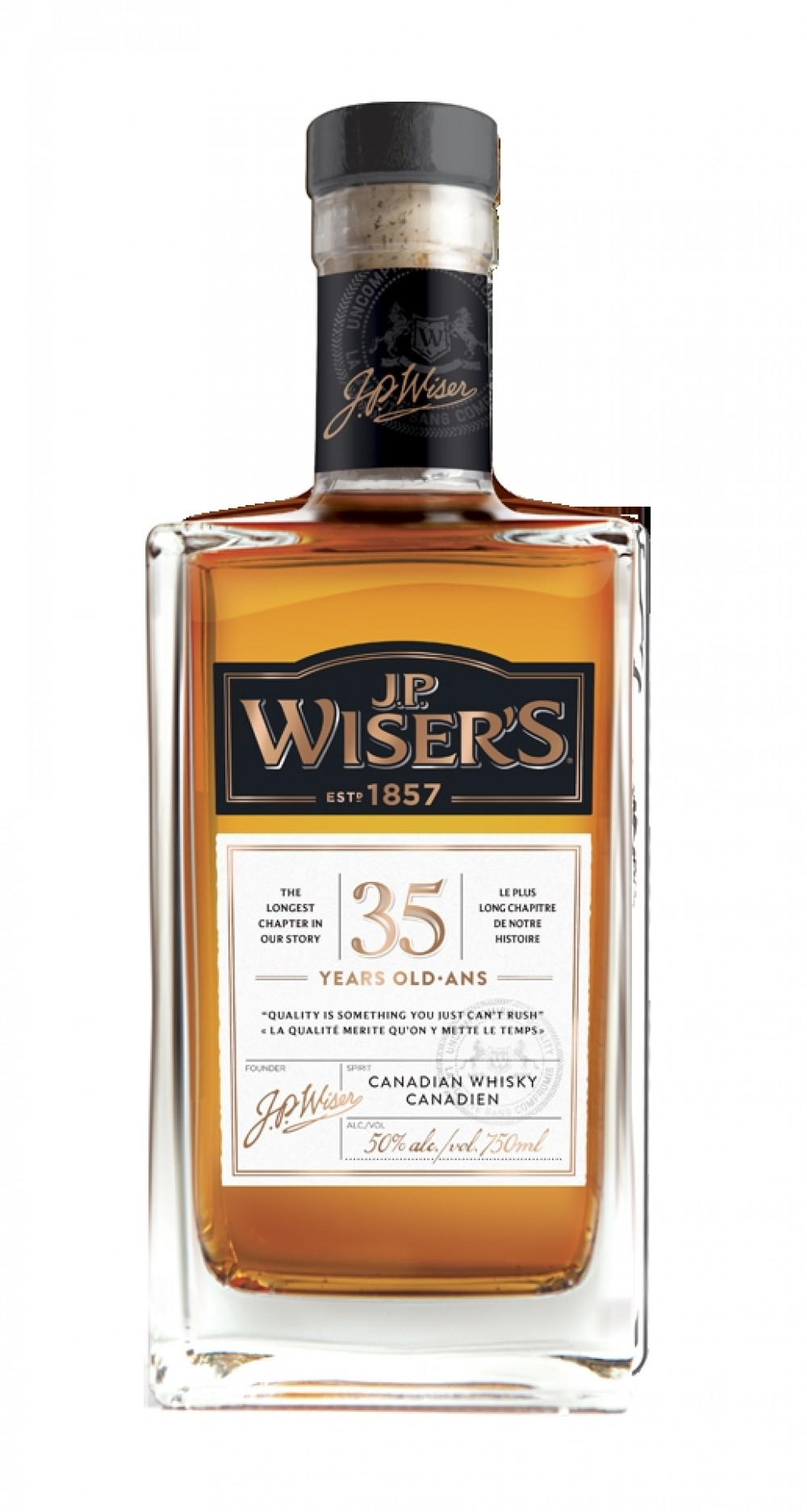 Honey Oak Review Of Wiser's 35 Years Old By @talexander - Whisky Connosr
