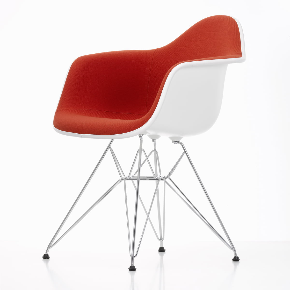 Eames Plastic Armchair Vitra Eames Plastic Armchair Dar Upholstered
