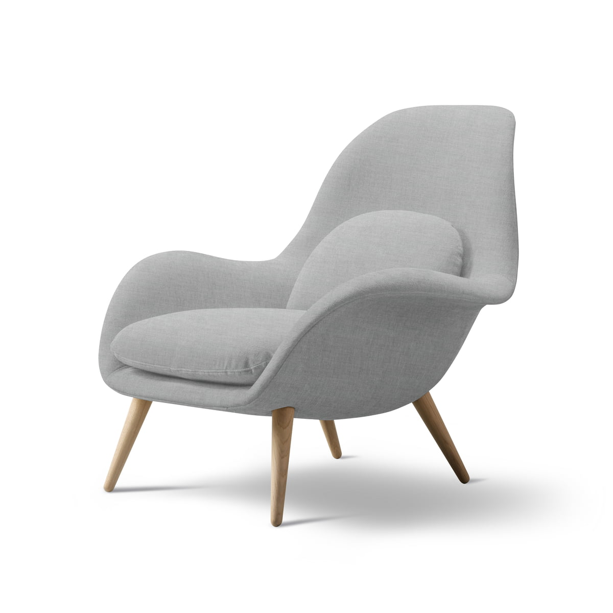 Swoon Chair Von Fredericia Connox Shop - Sessel Eiche