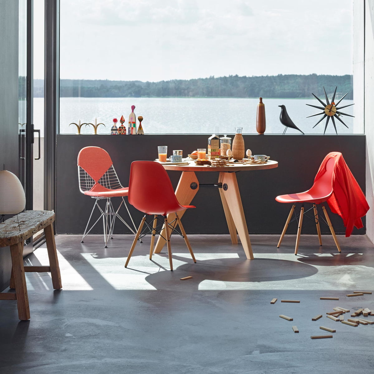 Eames Stuhl Dsw Eames Plastic Side Chair Dsw | Connox