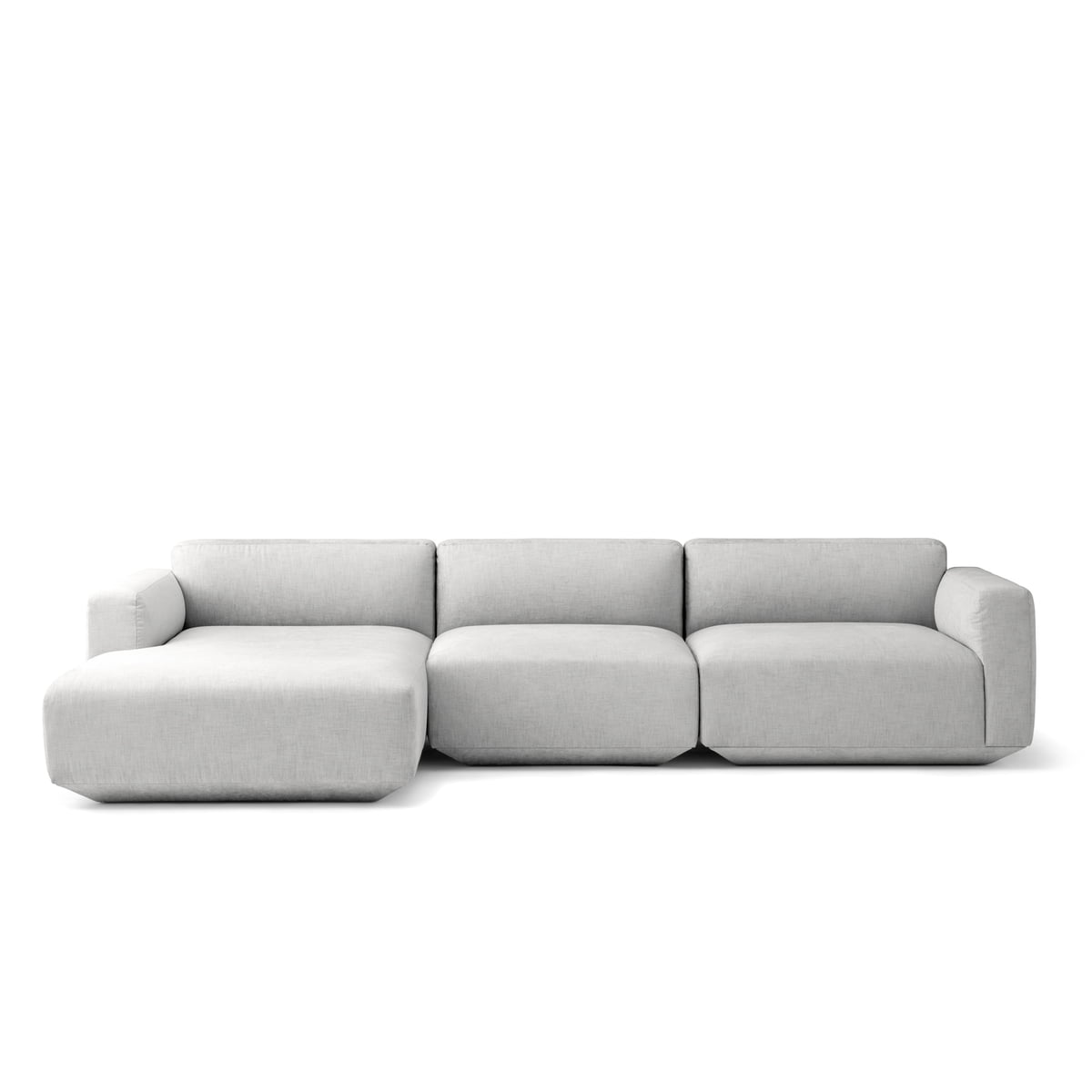 Eck Sofas Tradition Develius Eck Sofa Konfiguration E Hellgrau Kvadrat Maple 112