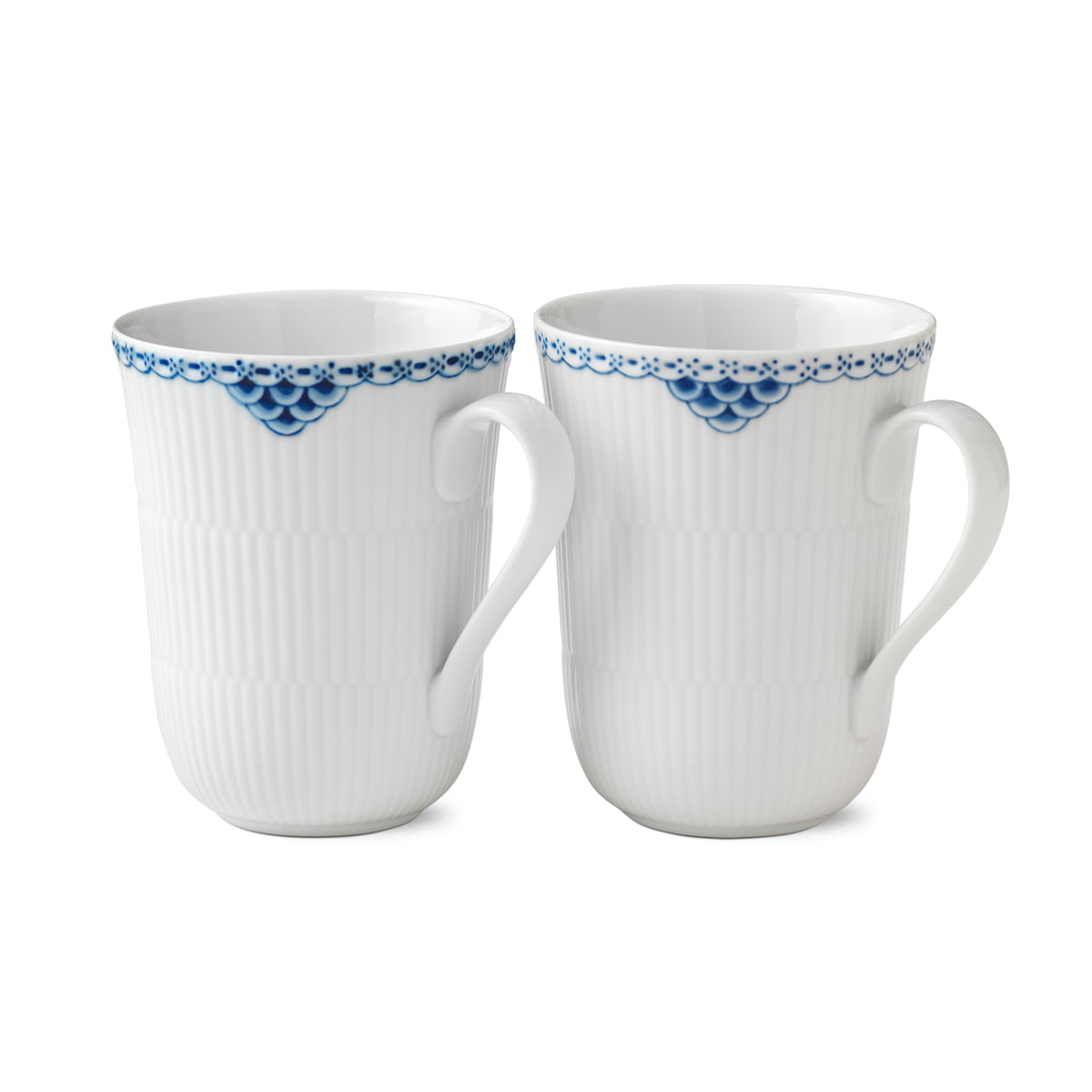 Royal Copenhagen Geschirr Royal Copenhagen Prinzess Becher 33 Cl 2er Set
