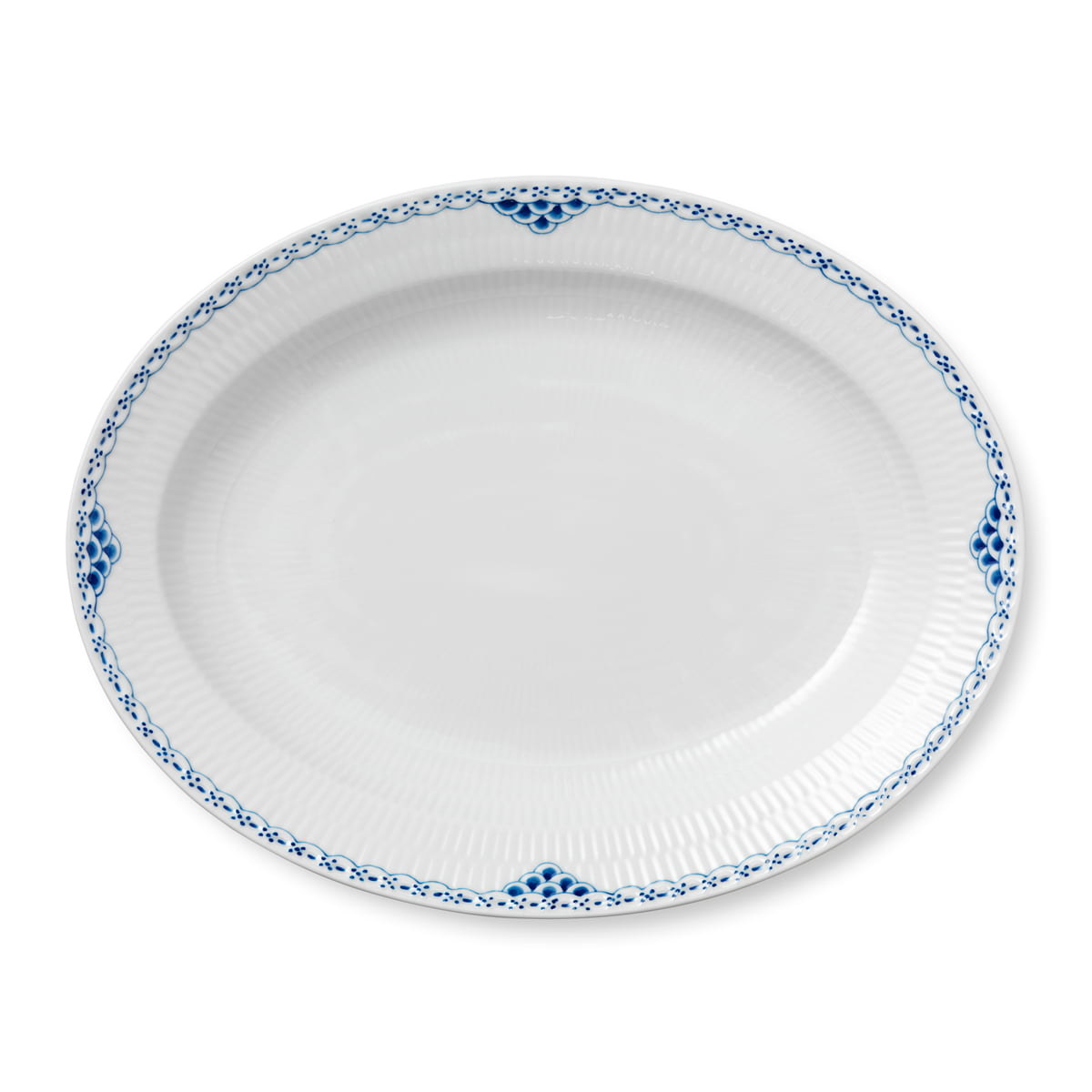 Royal Copenhagen Geschirr Royal Copenhagen Prinzess Servierplatte Oval 36 5 Cm