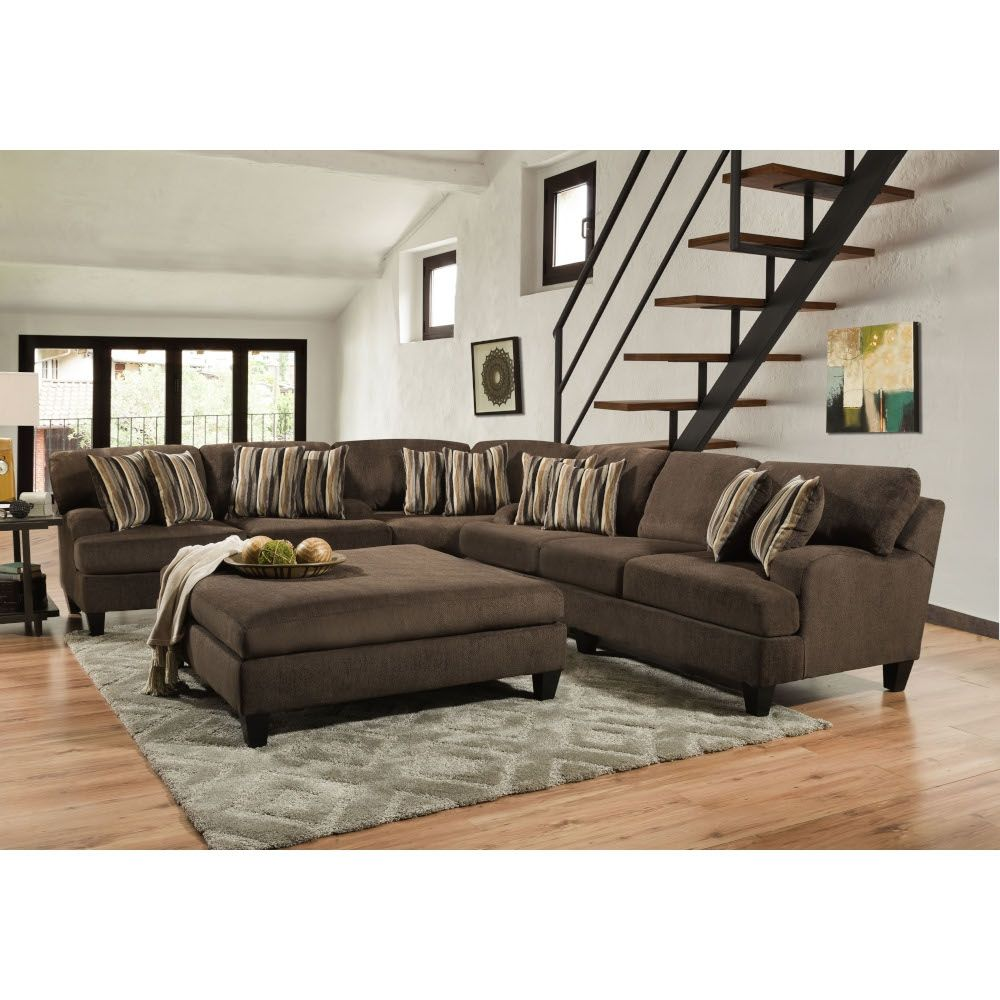 Brooklyn Sectional Sofa Loveseat Wedge Brooksect Conn S