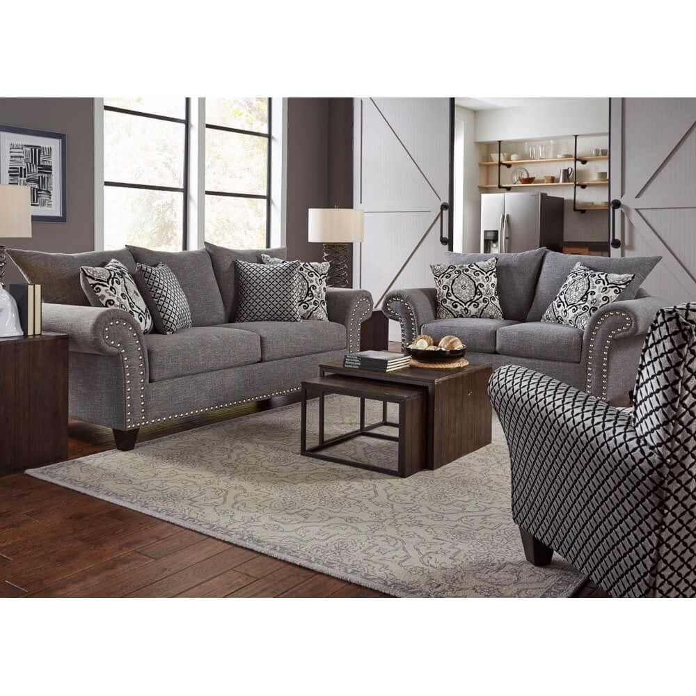 Paris Living Room Sofa Loveseat Paris2pclr Conn S