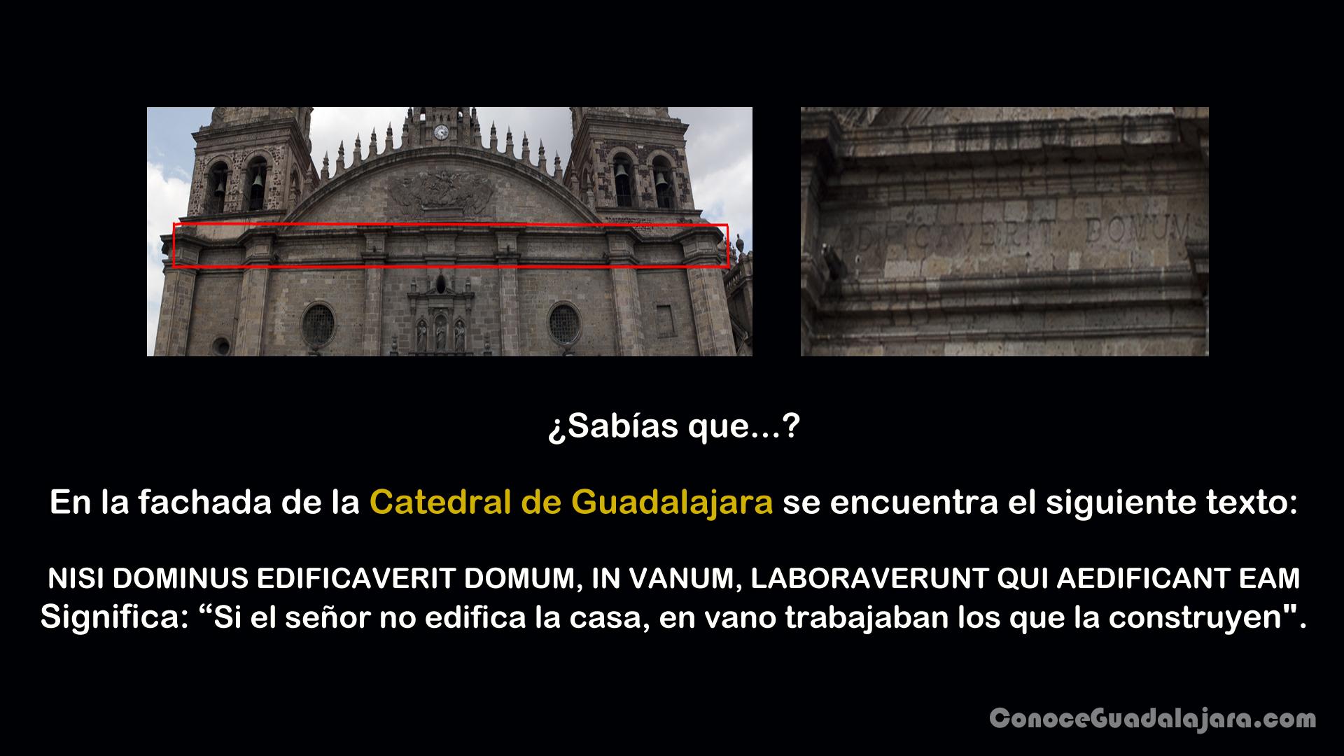 Fachada catedral Guadalajara