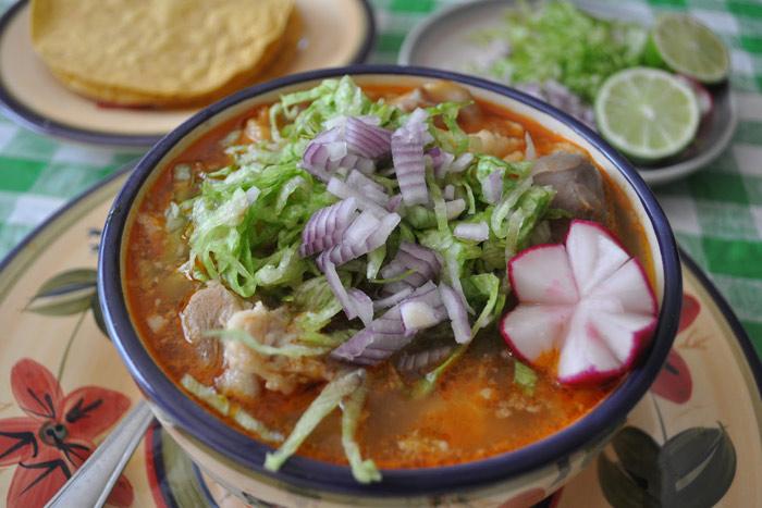 Comida tradicional Guadalajara Pozole