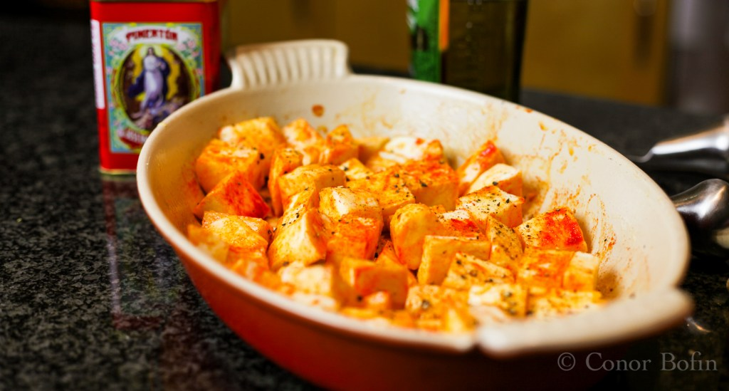 Parsnips and paprika