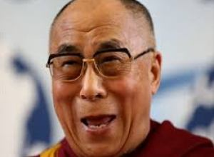 dalai laughing