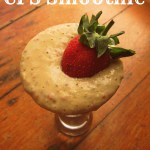 The Official Chronic Fatigue Smoothie! (Vegan Strawberry Cheesecake!)
