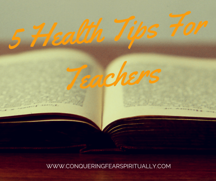 Health tips for teachers