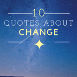 10 Quotes about Change
